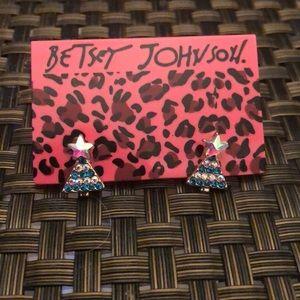 NWT Betsey Johnson Earrings Christmas Tree 🎄
